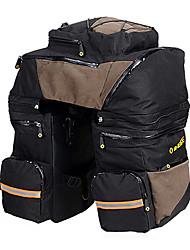 inbike 2-en-1 600d portables + café noir grandes sacoches vtt preuve de l'eau avec housse de pluie