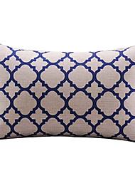 Algodón/Lino Cobertor de Cojín , Geométrica Moderno/Contemporáneo