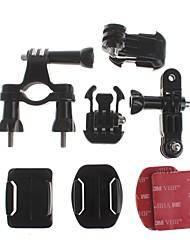 Accessoires für GoPro,Lenkerhalterung HalterungFür-Action Kamera,Gopro Hero 2 Gopro Hero 3 GoPro Hero 5 Alles Fahhrad ABS Aluminium