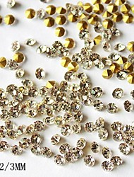 1440PCS 3MM  Glitter Rhinestone Nail Art Decorations
