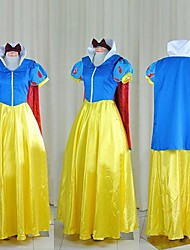 Lovely Snow White Blue & Yellow Cosplay Costume