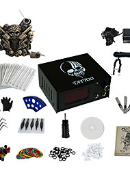 1 Gun Complete No Ink Tattoo Kit with Emboss Tatoo all In One Machine