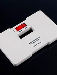 0,1 kg - a escala do corpo pessoal banheiro peso saúde aptidão digital de 150 kg (branca)