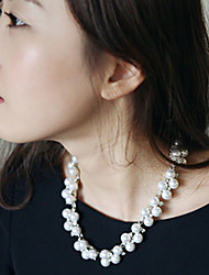 Miki's Pearl Drill Chain Necklace