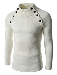 Jogal 3D High Collar Woolen Sweater