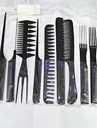 Hair Salon Black Plastic Suit Comb.