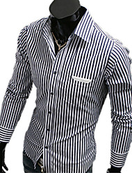 Stripe Long Sleeve Dhirt