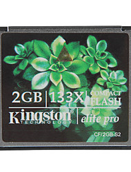Kingston 2GB Elite Pro 133x CF Compact Flash Speicherkarte