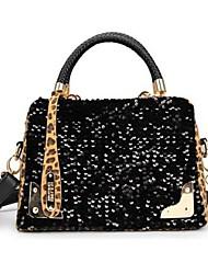 Coway Women's Leopard Hand Satchel Bag