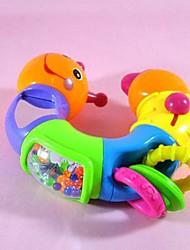 forma lagarta chocalhos brinquedos carrinho de bebê atividade berço brinquedos macios