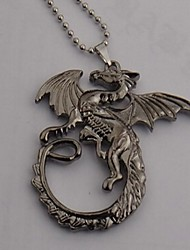 The hobbit Smaug Dragon Pattern Alloy Cosplay Necklace