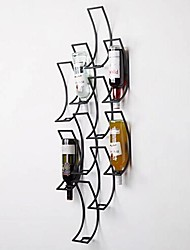 Metal Wall Art Wall Decor,Geometry Of The Wine Rack Wall Decor