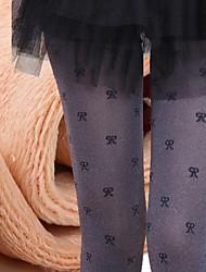 Women's Grey Bowknot Is Not Velvet on Foot Leggings