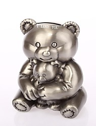 Personalized  Ring Bearer  Little Bear Ashbury Metal Piggy Bank