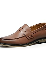 Men's Shoes Work Space Comfort Flat Heel Leather Oxford Shoes More Colors available