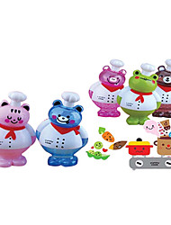 Happy Bear Shape Cook Coin Bank Toys for Gifts