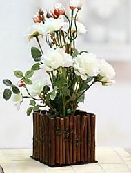 европейские классические деревянные ограждения моделирования цветы