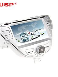 cusp® 7-дюймовый 2din DVD-плеер автомобиля для Hyundai Elantra / Avante / i35 2011-2013 Поддержка GPS, BT, RDS, игры, ставку