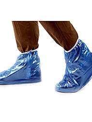 INBIKE Blue PVC Waterproof Cycling Shoes Cover(Suitable for Shoe Size 38-40)