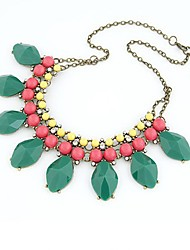 Magic Women's  Candy  Water Drop  Luxurious   Rhinestone  Necklace