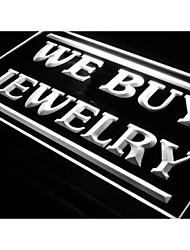 I616 que comprar jóias exposição da loja de néon sinal aberto luz