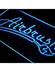 boutique aérographe i455 signe décor d'affichage bar néon de lumière