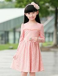 Girl's Autumn Long Sleeve Dress