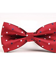 Men Vintage/Party/Work/Casual Bow Tie , Polyester Christmas Gifts