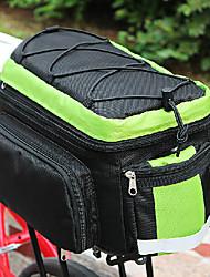 COOLCHANGE Green&Black Lightweight MTB Trunk Bag