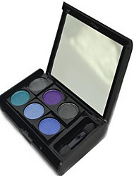 Lzhly® Professional Waterproof Magic Colorful Color Makeup Eye Shadow Palette with Free Brush