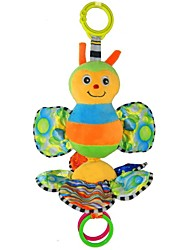 Babyfans ™ Baby Colorful Bee Cartoon Shaped Stuffed Music Educational Toys