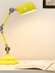 LED/Swing Arm/Eye Protection Desk Lamps , Novelty Metal