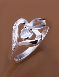 Vilin Women's Heart Micro Dermal Ring