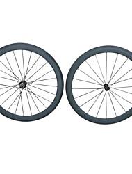 KAYOTE 700C Depth 50mm Tubular Width 23mm Carbon Wheelset for  Road Bike