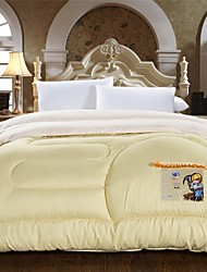 Shuian® Comforter Winter Quilt Keep Warm Thickening Cotton Quilts with Cream Coloured