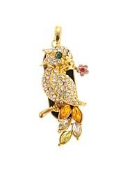zp 64gb Diamant goldene Eulenmuster bling Diamant-Metal-Stil USB-Stick