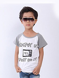 Boy's Cartoon Casual Short-Sleeved T-shirt Shirt Small Children's Clothing