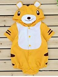 Baby Cute Tiger Boy Short Sleeved Bodysuit Onesie