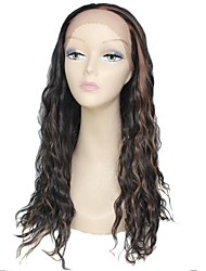 Lace Front Wig Long High Quality Curly Female Elegant Fashion Synthetic Celebrity Wig