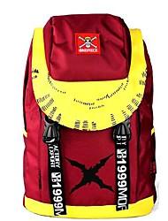 un singe pièce · d · rouge luffy&jaune sac à dos de cosplay / sac