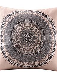 сложный круг хлопок / лен декоративная наволочка