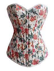 coton plastique désossage casual / occasion spéciale corset shapewear