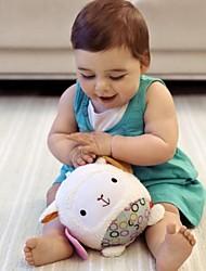 brinquedos de algodão macio bebê bola forma de cordeiro chocalho