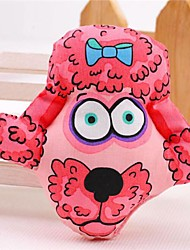 encantadora sonrisa rosada de juguetes de felpa de algodón cortos + pp para perros gatos