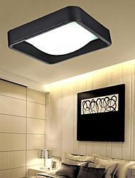 montagem embutida-luz led 32w 220v acrílico metal moda simples moderno