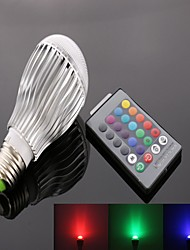10W E26/E27 LED Spot Lampen A50 9 High Power LED 950 lm RGB Ferngesteuert AC 85-265 V