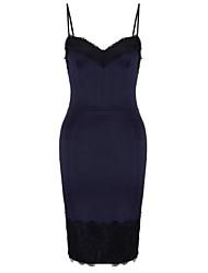 Women's Sexy Low-cut Backless Hip Pack Dress