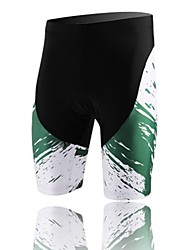 XINTOWN Unisex The High Quality Terylene Breathability Cycling Shorts—Black+Green