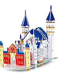 le château de Neuschwanstein 3d puzzles jouets de bricolage pour les enfants et puzzle adulte Puzzle (31pcs)