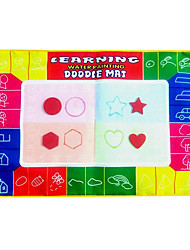 45 * 29 * Aquadoodle colorido mágico de 1 cm para niños con 2 bolígrafos novedad juega educativos (2 bolígrafos)